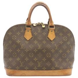 Louis Vuitton-LOUIS VUITTON Monogram Alma Hand Bag M51130 LV Auth 24054-Other