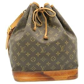 Louis Vuitton-LOUIS VUITTON Monogram Noe Shoulder Bag M42224 LV Auth 24062-Other