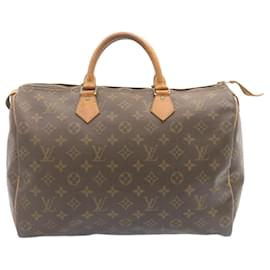 Louis Vuitton-Louis Vuitton Monogram Speedy 35 Hand Bag M41524 LV Auth 24066-Other