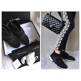 Chanel-Sneakers with box, Dustbag-Black