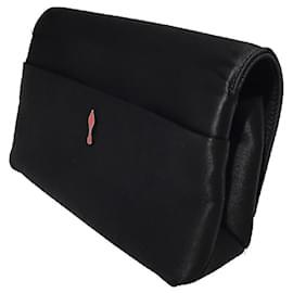 Christian Louboutin-[Used] CHRISTIAN LOUBOUTIN Rougissime Clutch Bag-Black