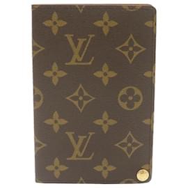 Louis Vuitton-LOUIS VUITTON Monogram Porte Cartes Photo Photo Case M60485 Auth LV 24334-Marron