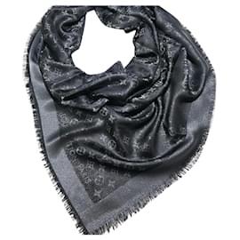 Louis Vuitton-Monogram shine black-Black