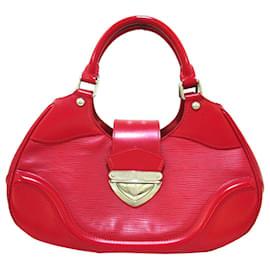 Louis Vuitton-Louis Vuitton Red Epi Sac Montaigne-Red