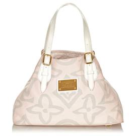 Louis Vuitton-Louis Vuitton Pink Tahitienne Cabas PM-Pink