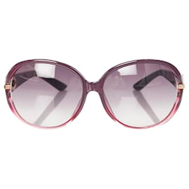 Dior-Dior Gray Round Tinted Sunglasses-Grey,Purple
