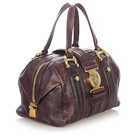 Gucci-Gucci Black Aviatrix Leather Boston Bag-Black