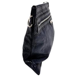 Balenciaga-Balenciaga Blue Motocross Classic Clip L Clutch Bag-Blue