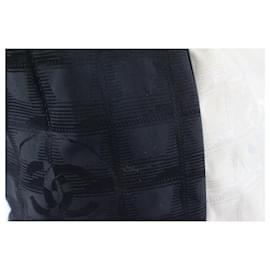 Chanel-Bicolor White x Black New Line Shopper Tote bag-Other