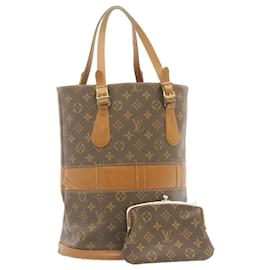 Louis Vuitton-LOUIS VUITTON Monogram bucket Tote Bag USA T42236 LV Auth ai065-Other