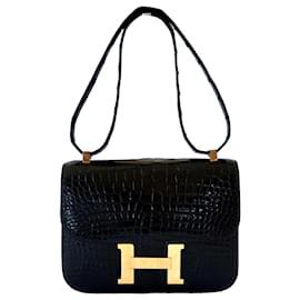 Hermès-Sacs à main-Noir