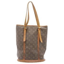 Louis Vuitton-LOUIS VUITTON Monogram Bucket GM Shoulder Bag M42236 LV Auth as125-Other