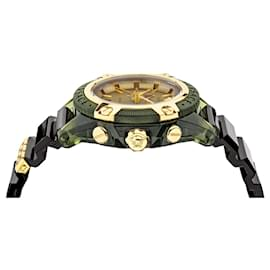 Versace-Icon Active Chronograph Watch-Green