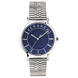 Versace-V-Essential Bracelet Watch-Silvery,Metallic