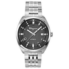 Salvatore Ferragamo-Ferragamo Evolution Automatic Watch-Silvery,Metallic