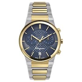Salvatore Ferragamo-Ferragamo Sapphire Chrono Bracelet Watch-Other