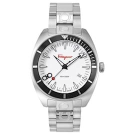 Salvatore Ferragamo-Ferragamo Experience Bracelet Watch-Silvery,Metallic