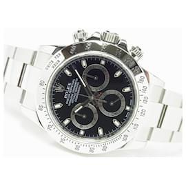 Rolex-ROLEX Daytona SS black Ref.116520 G series Genuine goods Mens-Black