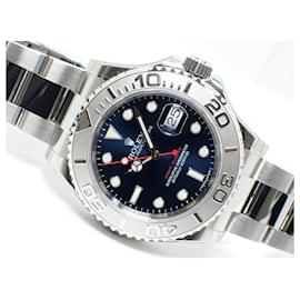 Rolex-ROLEX YACHT-MASTER40 blue 116622 protective seal Mens-Blue
