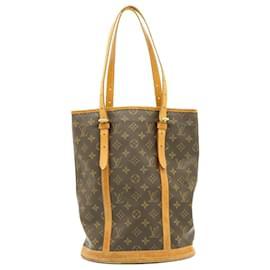 Louis Vuitton-LOUIS VUITTON Monogram Bucket GM Shoulder Bag M42236 LV Auth ki923-Other