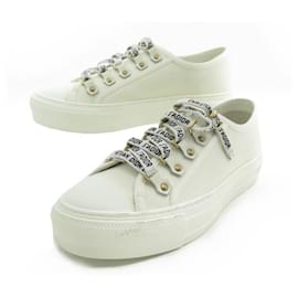 Christian Dior-NEW CHRISTIAN DIOR SNEAKERS WALK'N'DIOR 36 It 37 FR BOX SHOES-White