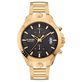 Autre Marque-Griffith Chronograph Watch-Golden,Metallic