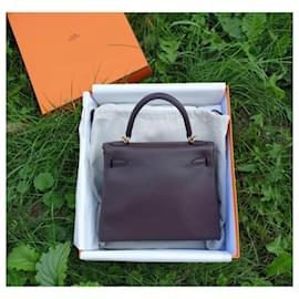 Hermès-Hermes Kelly II Retourne 25 Swift Bag-Multiple colors