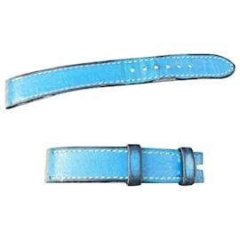 Hermès-Hermès simple watch strap-Light blue