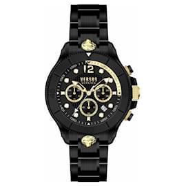 Autre Marque-Volta Chronograph Watch-Black
