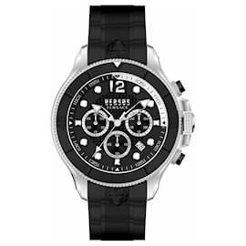 Autre Marque-Volta Chronograph Watch-Silvery,Metallic