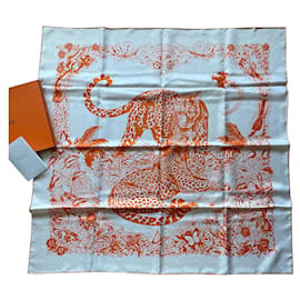 Hermès-Jungle love tattoo-Orange