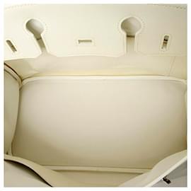 Hermès-Hermes White Epsom Birkin 30-White