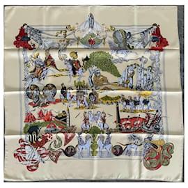 Hermès-Over the silk-Beige