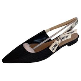 Christian Dior-Dior J'adior slingbacks ballerinas-Black