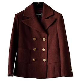 Chanel-NEW Paris/Hamburg Jacket/Coat-Brown
