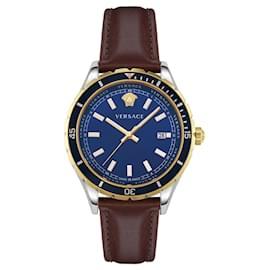 Versace-Hellenyium Strap Watch-Metallic
