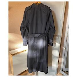 Burberry-Boy Coats Outerwear-Navy blue