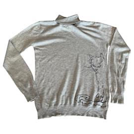 Autre Marque-Sweaters-Grey,Navy blue