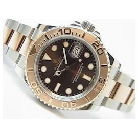 Rolex-ROLEX YACHT-MASTER40 SS & Everose Gold Chocolate Ref.116621 Genuine goods Mens-Brown