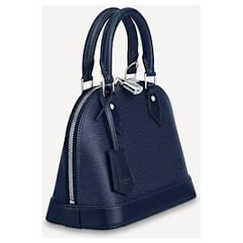 Louis Vuitton-LV Alma BB epi blue-Blue