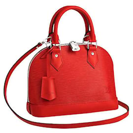 Louis Vuitton-LV Alma Epi red-Red