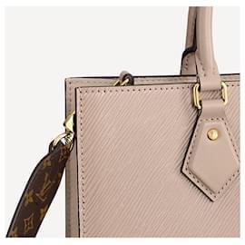 Louis Vuitton-LV Sac Plat PM new epi-Beige