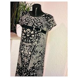 La Fée Maraboutée-Dresses-Black,Beige