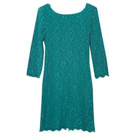 Diane Von Furstenberg-Dresses-Turquoise