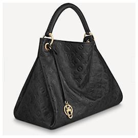 Louis Vuitton-LV Artsy black leather-Black