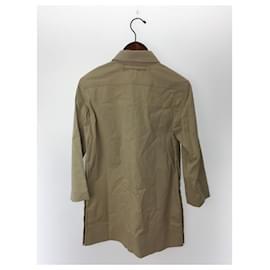 Prada-[Used] PRADA Beige Cotton Dress-Beige