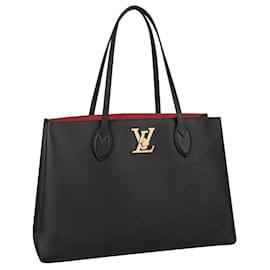 Louis Vuitton-LV Lockme Shopper new-Black