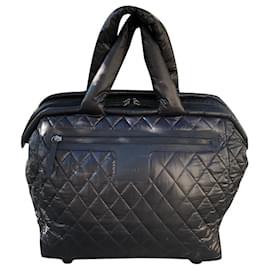 Chanel-Chanel Coco Cocoon black suitcase-Black