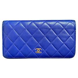 Chanel-Wallets-Blue