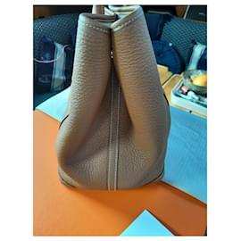 Hermès-Hermès Garden Party bag-Caramel